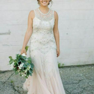BHLDN Needle & Thread Cate Dress Gown size 10 $800